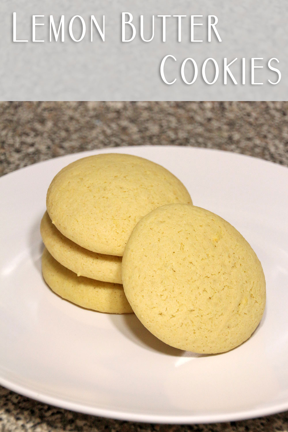 These cookies are delicious – lemony, nice and chewy, and just an ...